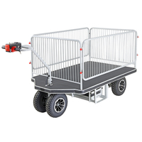Large Powered Platform Trolley