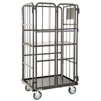 Heavy Duty Security Cage Trolley