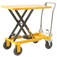 Rough Terrain Scissor Lift Trolley