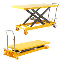 Extra Large Scissor Lift Trolleys