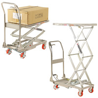 Stainless Steel Scissor Lift Trolleys