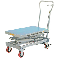 Galvanised Scissor Lift Trolley