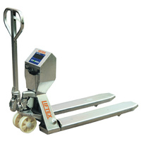 Stainless Steel Pallet Trucks With Load Scales