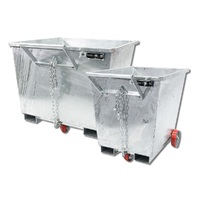 Zinc Plated Forklift Tipping Bins