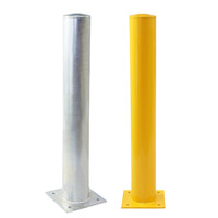 Large Galvanised Fixed Safety Bollards